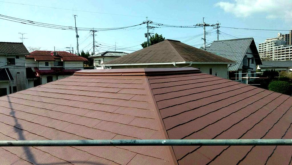 熊本県熊本市北区 N様邸 屋根塗装