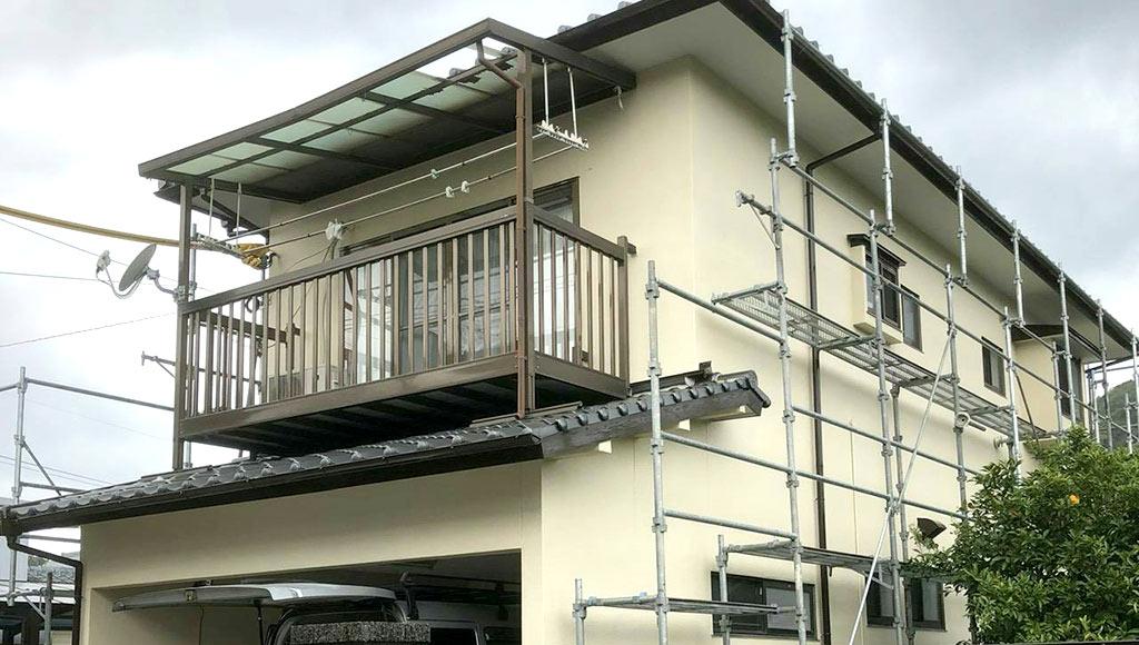 熊本県熊本市西区 I様邸 外壁・屋根塗装