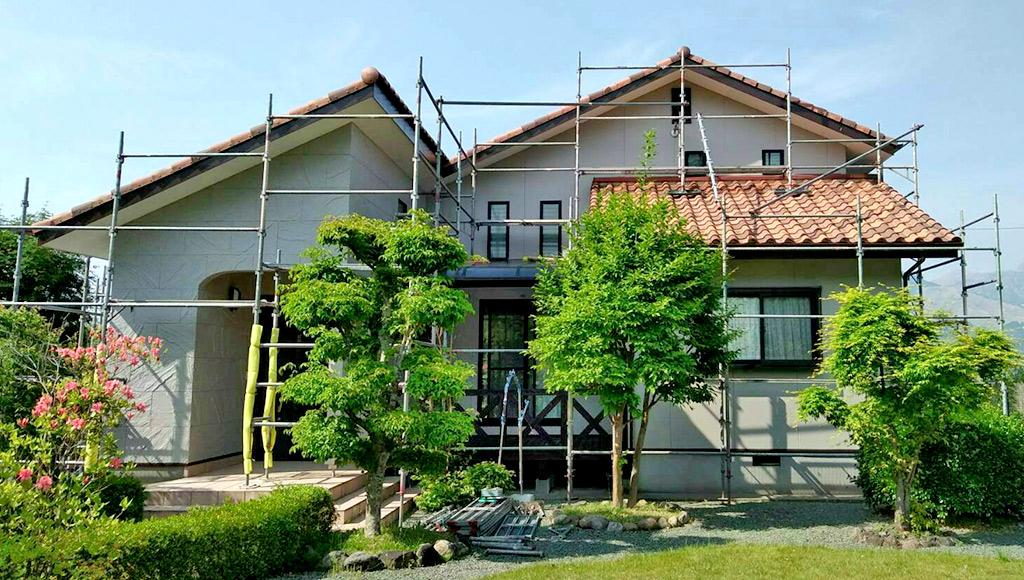 熊本県南阿蘇 S様邸 外壁塗装