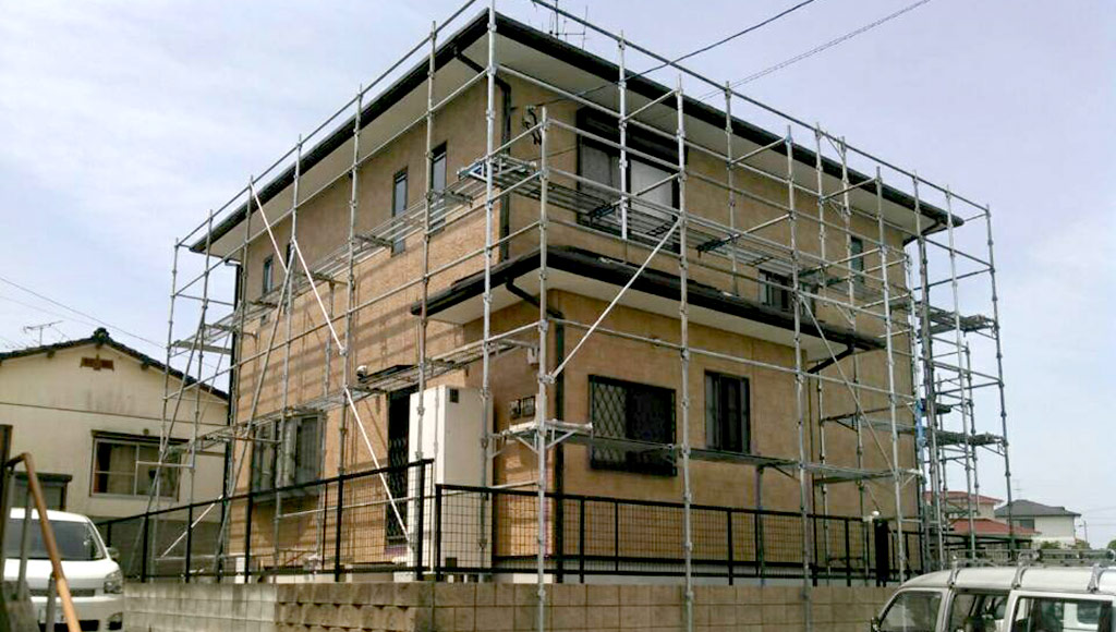 熊本県荒尾市 K様邸 外壁塗装