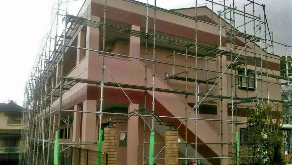 熊本県益城町 アパート 外壁・屋根塗装