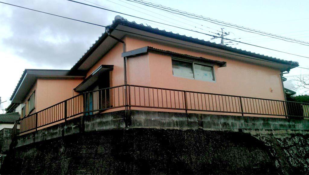 熊本県天草市 I様邸 外壁塗装
