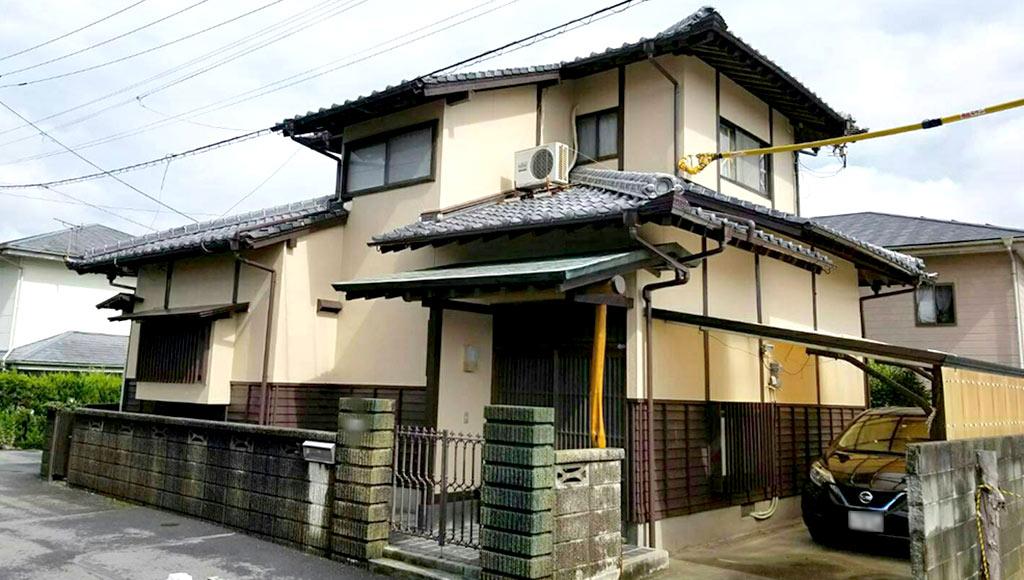 福岡県大牟田市 U様邸 外壁塗装