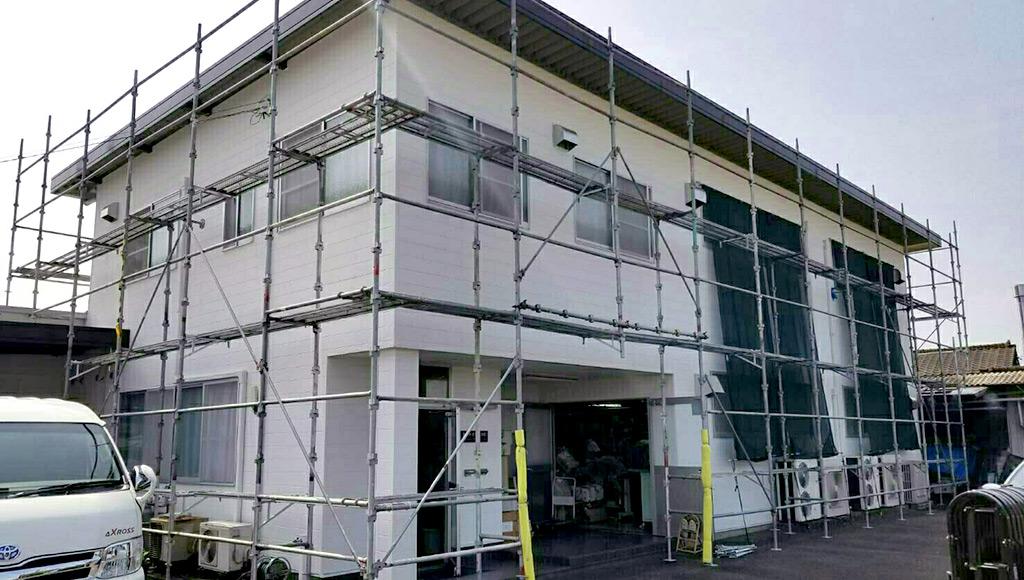 熊本県人吉市 工場 外壁・屋根塗装