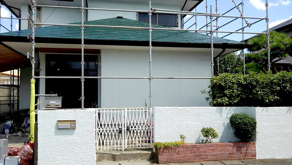 熊本県八代市 社宅 外壁・屋根塗装