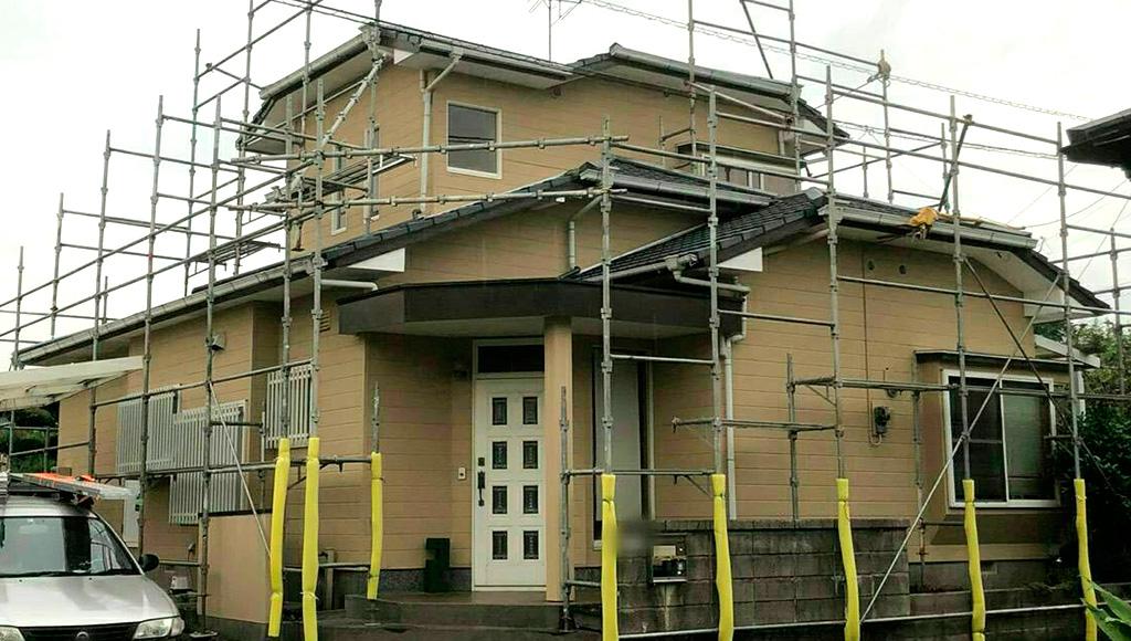 熊本県松橋町 F様邸 外壁・屋根塗装