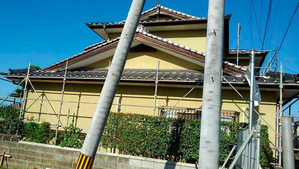 熊本県松橋町 I様邸 外壁塗装