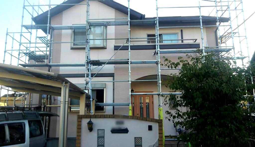 福岡県久留米市 W様邸 外壁・屋根塗装