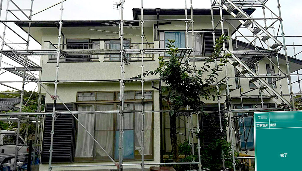 熊本県荒尾市 I様邸 外壁・屋根塗装