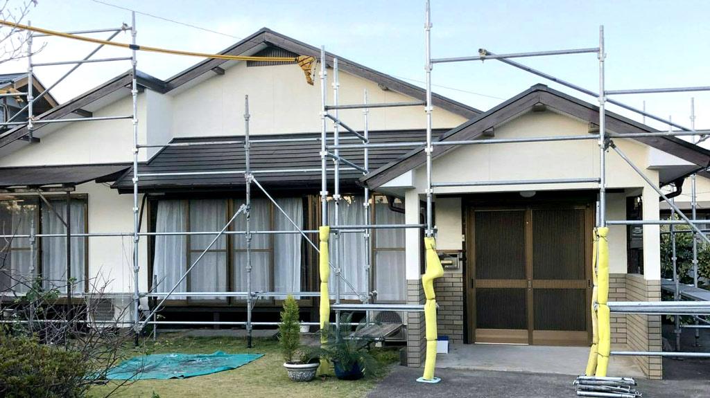 熊本県熊本市南区 U様邸 外壁・屋根塗装