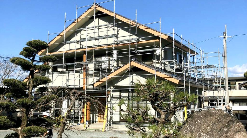熊本県七城町 H様邸 外壁塗装