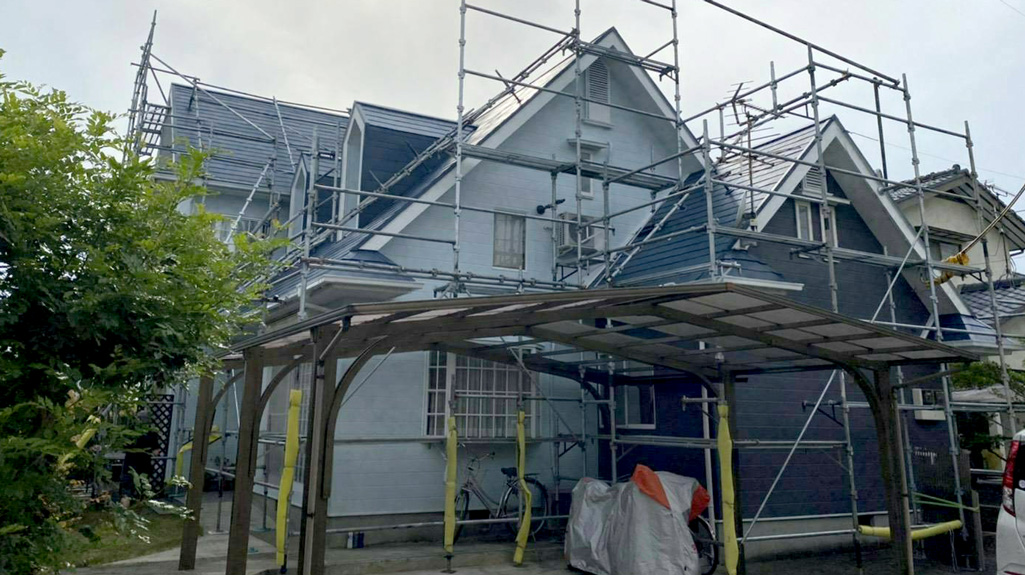熊本県熊本市南区 H様邸 外壁・屋根塗装