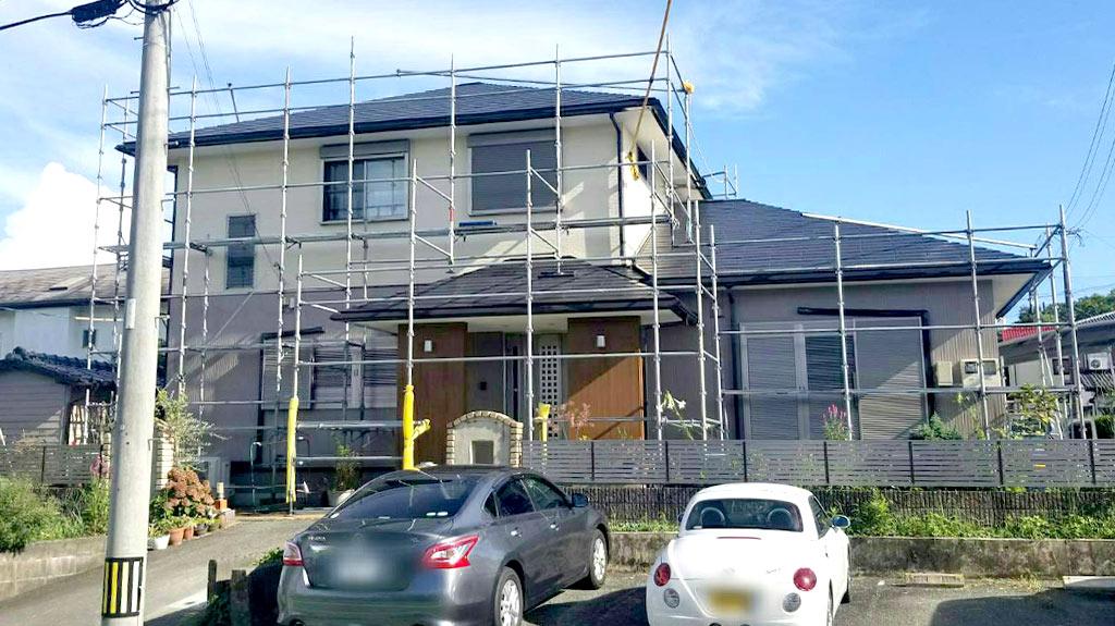 福岡県大牟田市 K様邸 外壁・屋根塗装