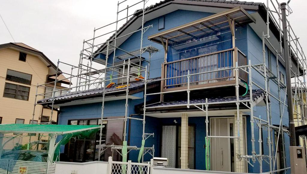 熊本県松橋町 M様邸 外壁・屋根塗装