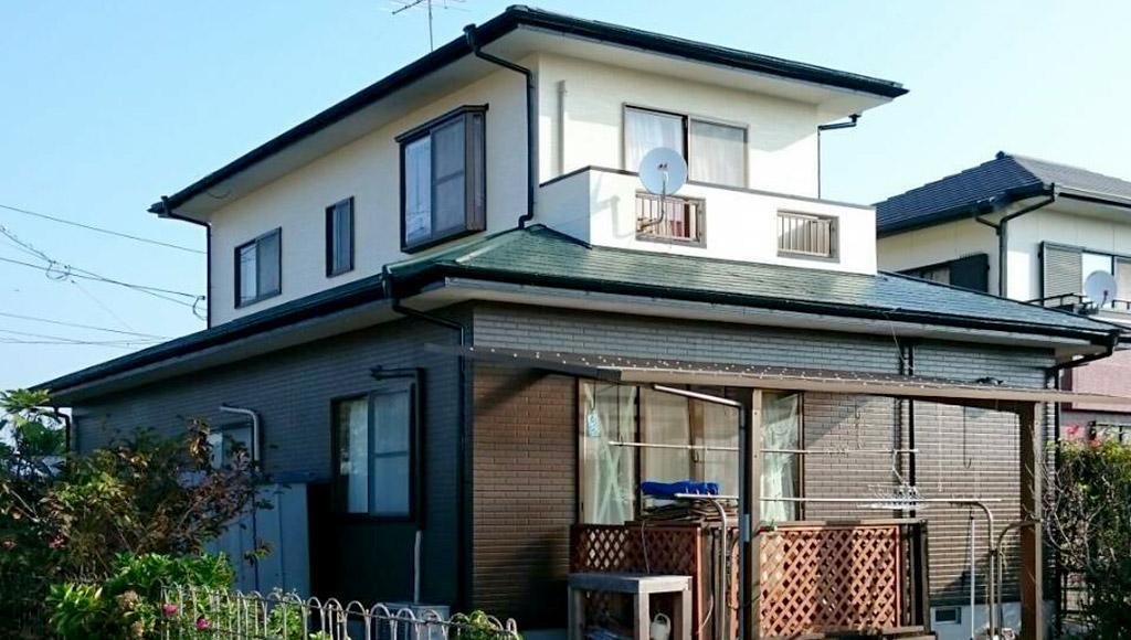 熊本県松橋町 S様邸 外壁・屋根塗装