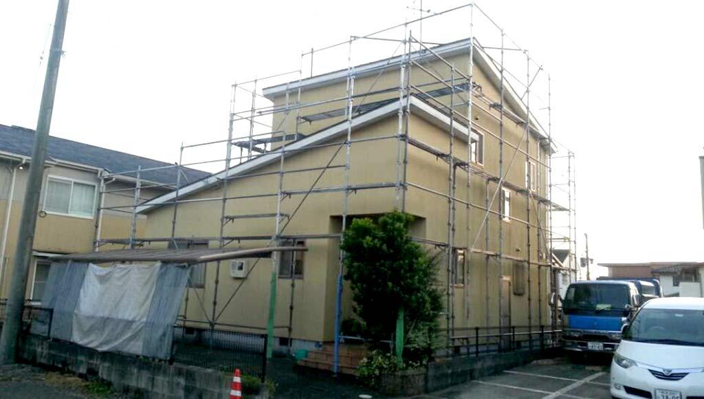 熊本県熊本市 U様邸 外壁塗装