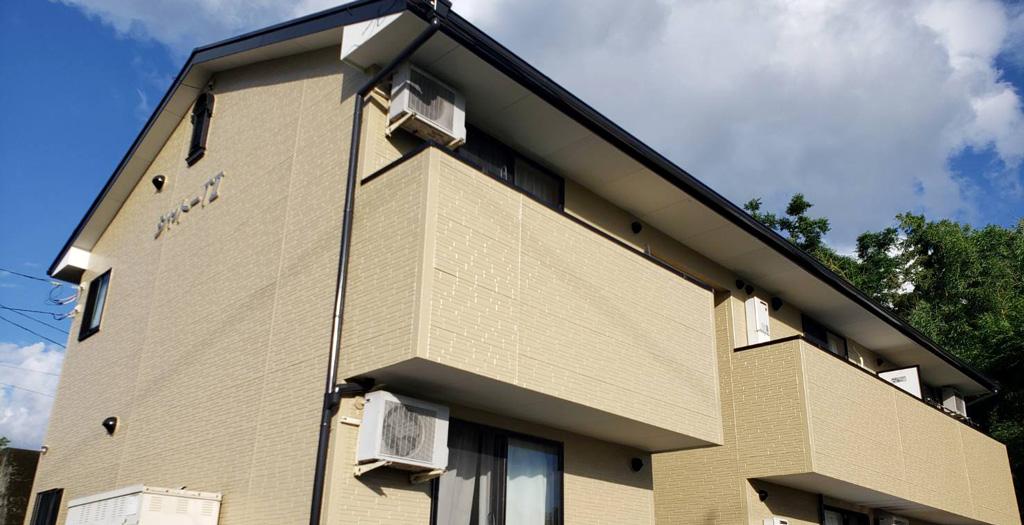 熊本県菊池市 アパート 外壁・屋根塗装