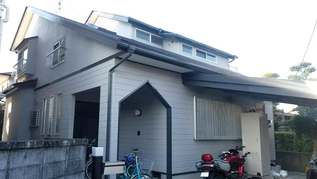熊本県熊本市中央区 O様邸 外壁・屋根塗装