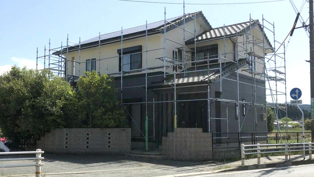 熊本県阿蘇市 M様邸 外壁塗装