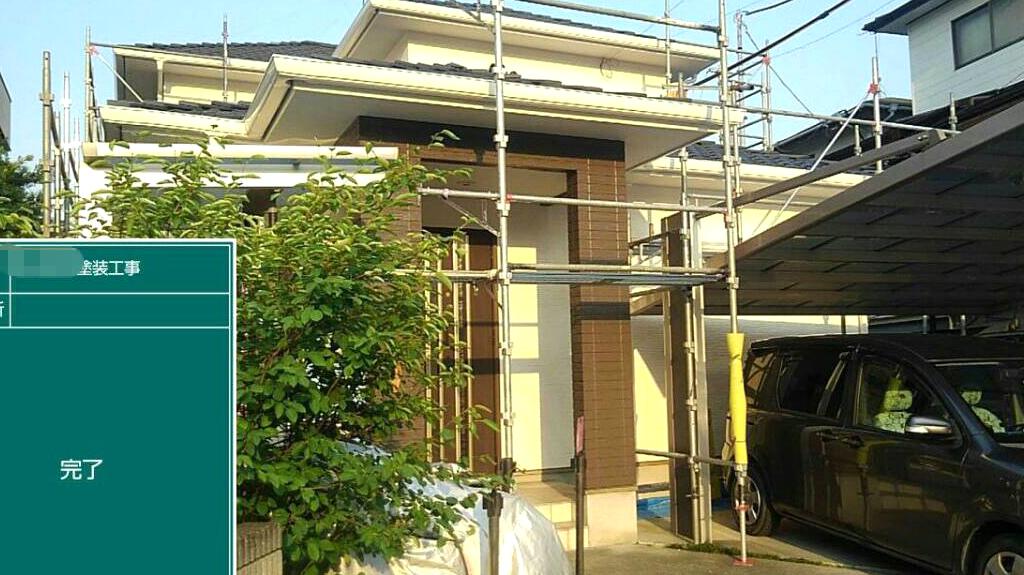 熊本県熊本市中央区 S様邸 外壁塗装
