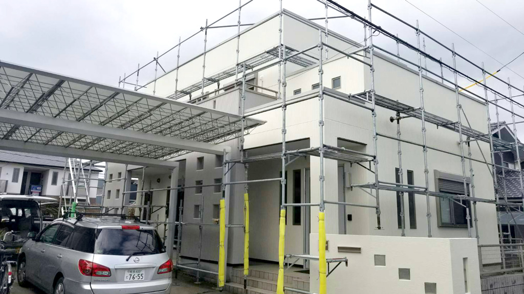 熊本県合志市  W様邸 外壁塗装