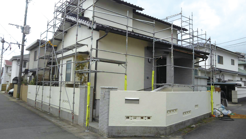 熊本県熊本市中央区 H様邸 外壁・屋根塗装