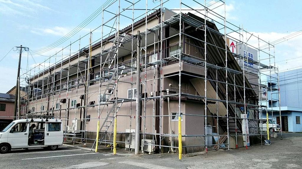 熊本県菊池市 荒木ビル 外壁・屋根塗装