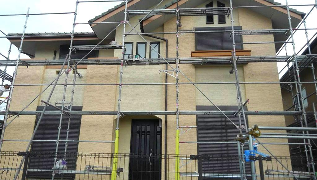 熊本県熊本市北区 I様邸 外壁塗装