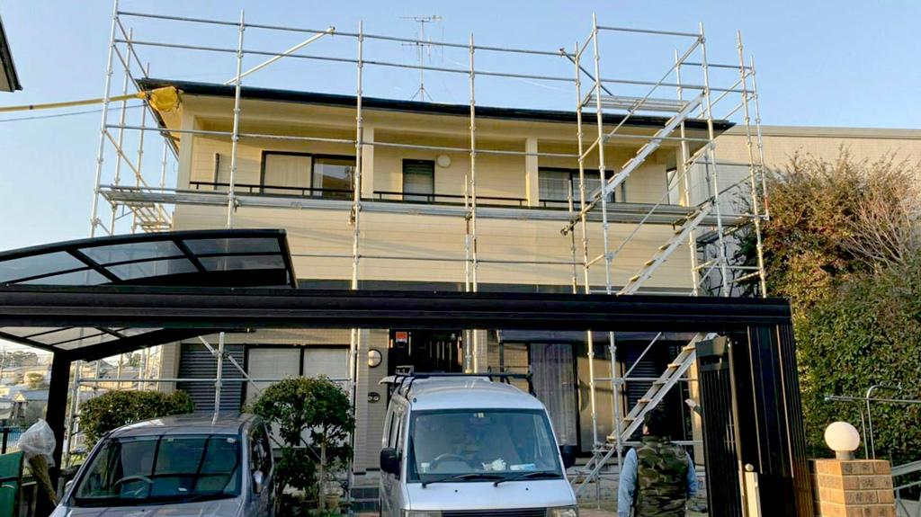 熊本県熊本市西区  W様邸 外壁・屋根塗装