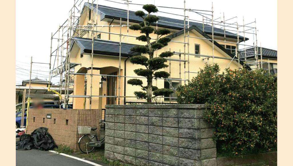 熊本県玉名郡 Y様邸 外壁塗装