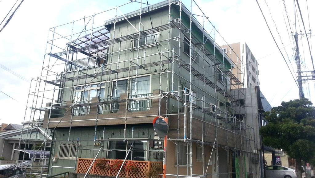 熊本県熊本市中央区 S様邸 外壁・屋根塗装