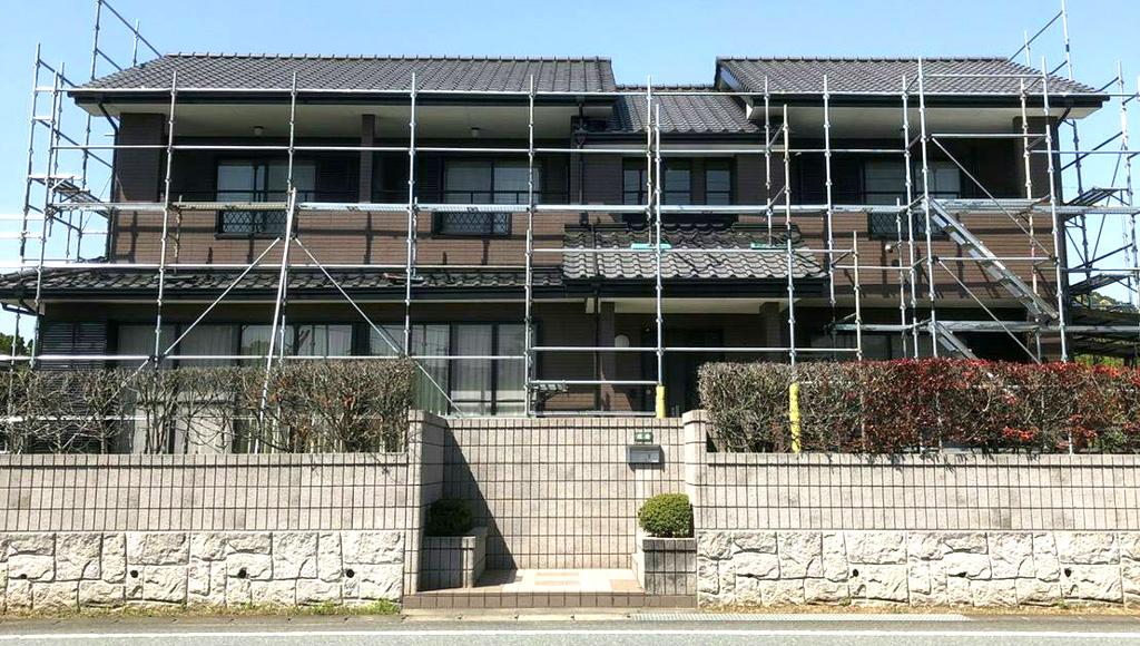 熊本県宇城市 W様邸 外壁塗装